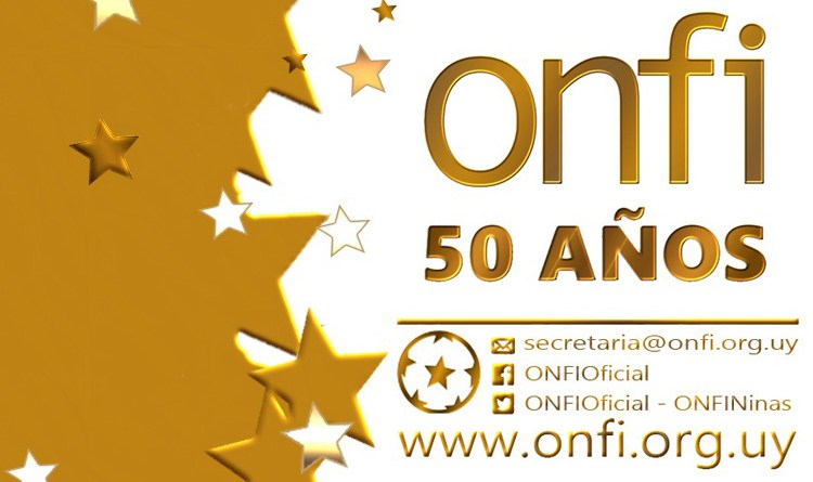 Cambio de fecha de celebración de  50 años de ONFI