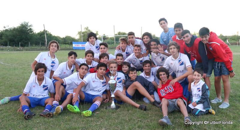 """Nacional gano el Trofeo FutbolFlorida del 18vo Promocional """"Pablo Soca"""""""