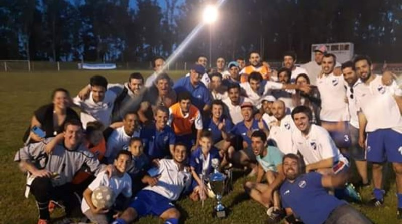 Sarandí Grande. Nacional Campeón del Clausura