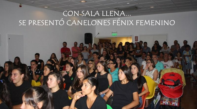 Canelones Fénix presentado en sociedad