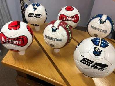 Balones oficiales para los clubes