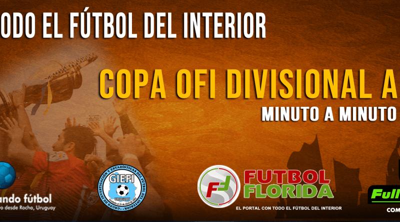 #CopaOFI. Toda la fecha de la A del domingo
