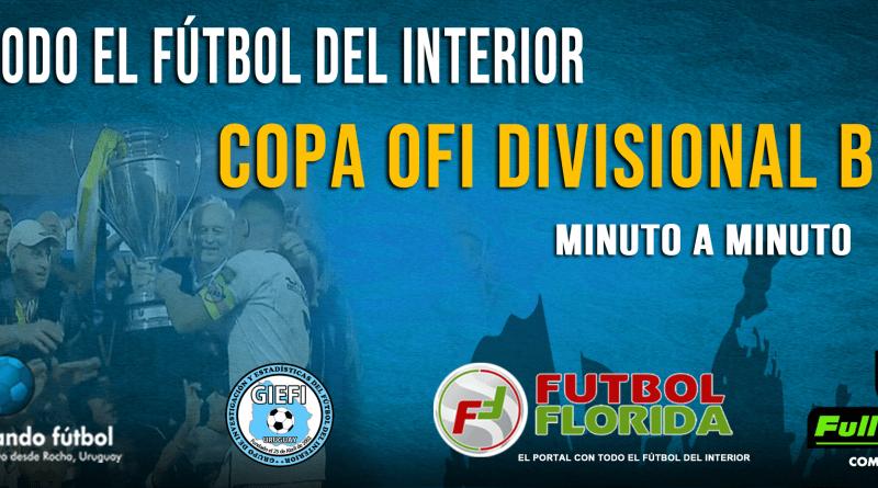 #CopaOFI. Toda la Copa B del domingo