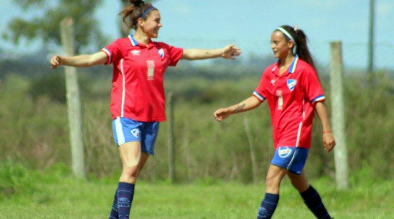 Femenino. Fotogalería de la goleada de Nacional a River Plate