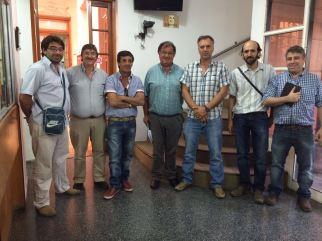 El 19 de enerode 2016 nos reunimos en OFI los representantes de los medios de interior y consejeros. Foto Fanny Ruetalo