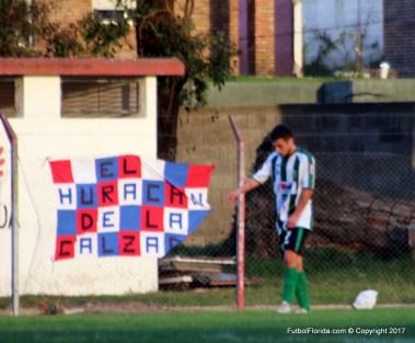 Gastón Garaza, el goleador entró al final, marcó el gol del triunfo y salió