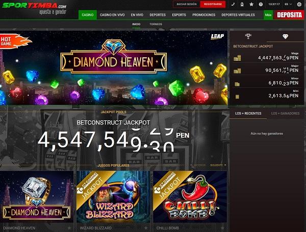 Juegos de casino Sportimba