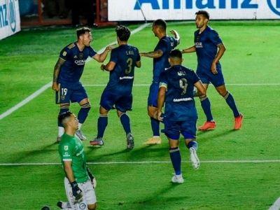 Fotografía Semifinal Copa Libertadores 2021 boca juniors