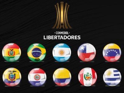 Copa libertadores 2021 países que participan