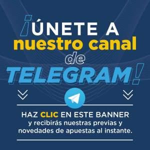 canal de Telegram futbol y apuestas online