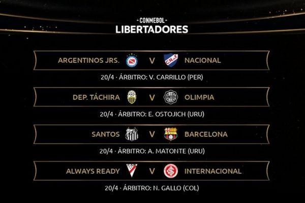 Novedades-de-la-fase-de-grupos-en-la-Copa-Libertadores-2021-arbitros-designados