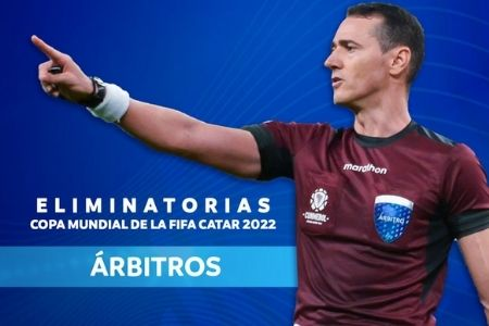 eliminatorias Sudamericanas de Catar arbitros
