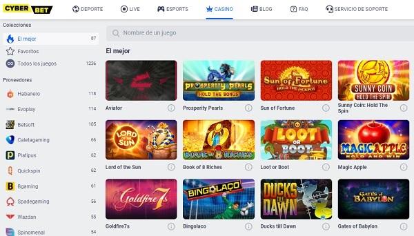 juegos de casino cyber.bet