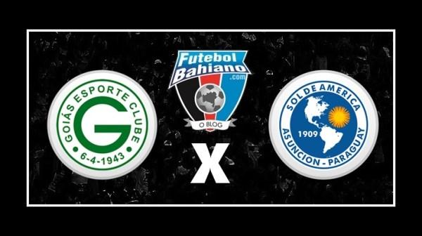 Assistir Goiás x Sol de América AO VIVO pela Copa Sul-Americana