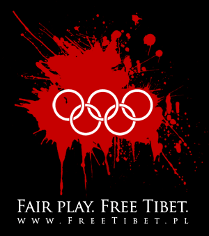 Fair play. Free Tibet.