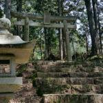 『日下部氏居住地跡』産霊七社神社