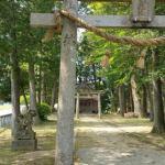 『大宮町善王寺にある鬼伝説の足跡』住吉神社