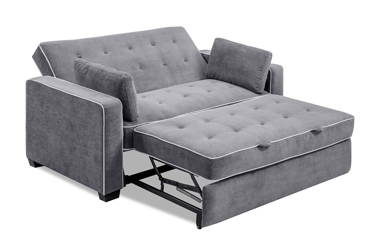 Large Grey Sectional Couch