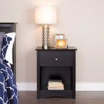 Sonoma 1 Drawer Tall Nightstand By Prepac