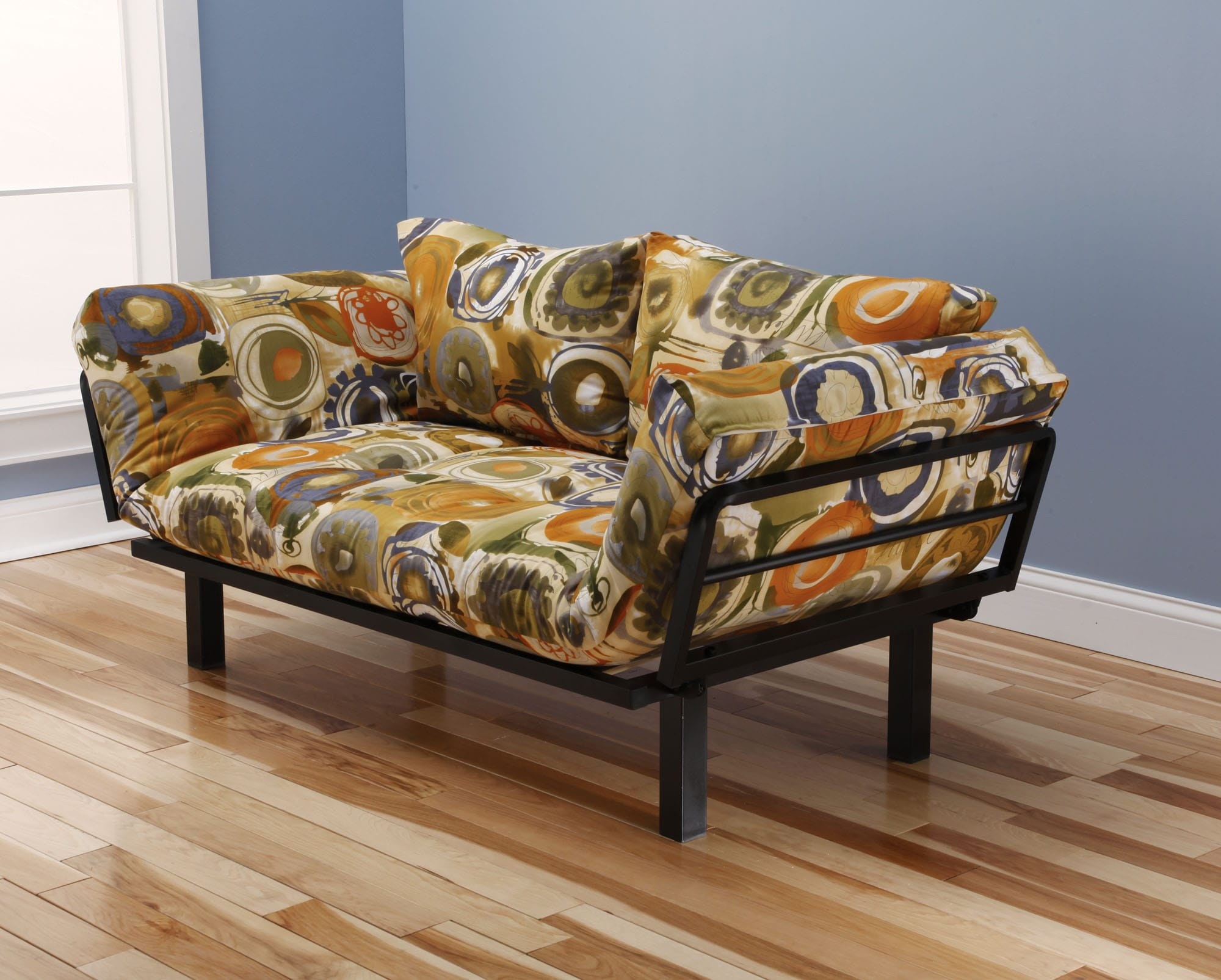 Spacely Futon Daybed Lounger With Mattress Enchanted Maze