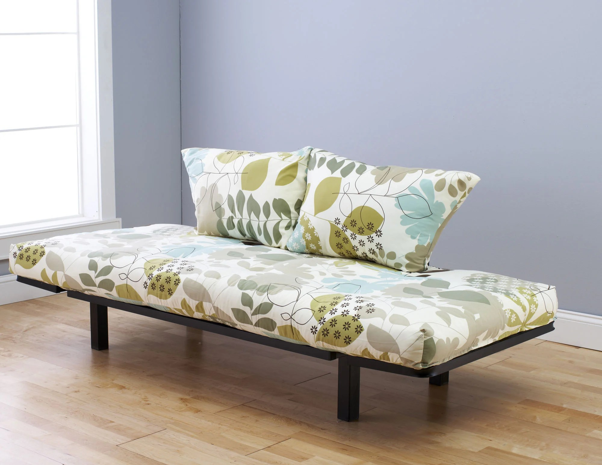 Spacely Futon DaybedLounger With Mattress English Garden
