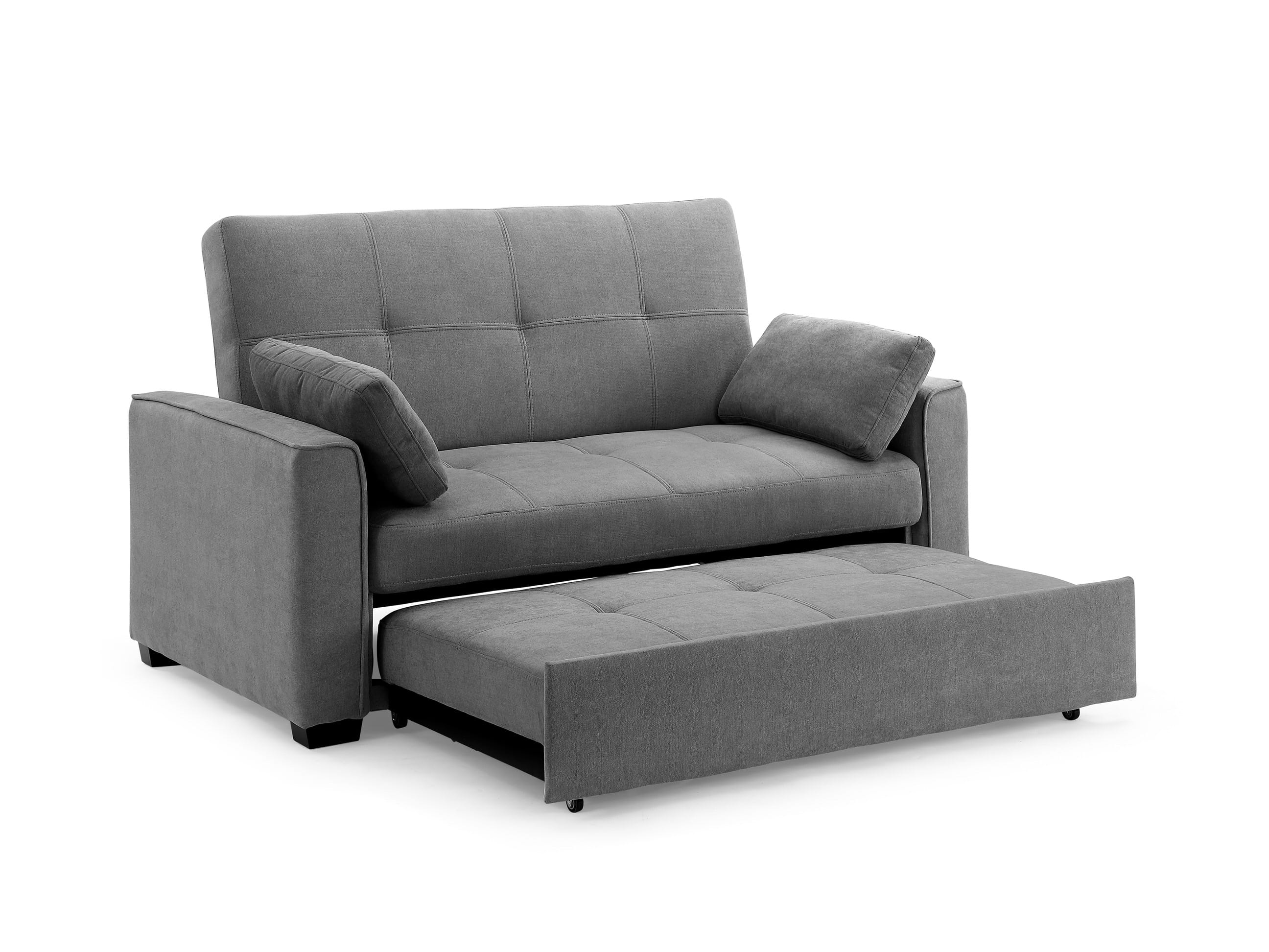 Nantucket Loveseat Full Size Sleeper Light Gray By Night Day Furniture