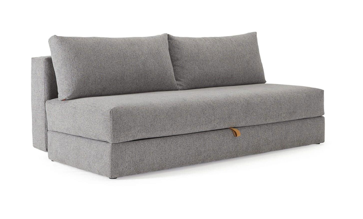Osvald Sofa Full Size Melange Light Gray By Innovation