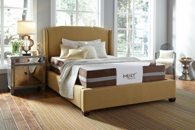 Fusion 12 Inch Double Sided Latex Memory Foam W Individual Pocket Coils Mattress By Mlily
