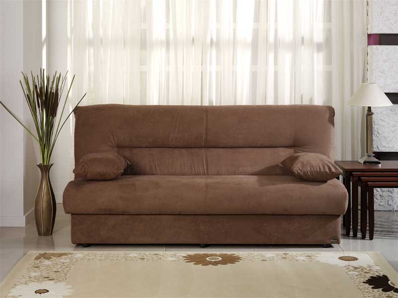 Regata Obsession Truffle Convertible Sofa Bed By Istikbal