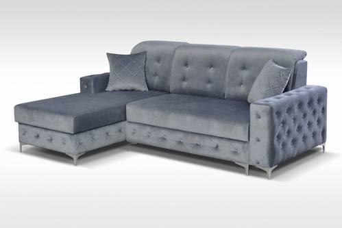 verso mini gray sectional sofa by skyler designs