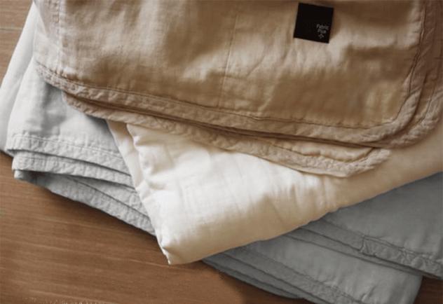 Japanese summer gauze blanket futon tokyo