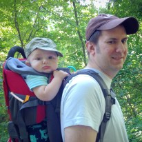 two cute hikers.