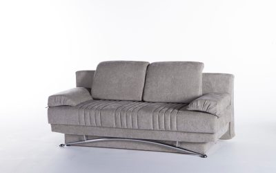 Fantasy Queen Futon Sofa Bed Valencia Gray by: Istikbal