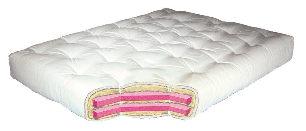 613 – Wool Wrap Futon Mattress