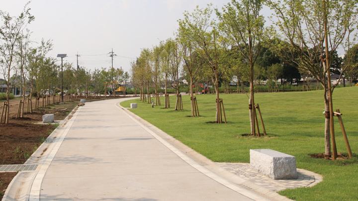 埼玉県のさきたま古墳公園