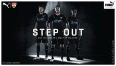 Nova camisa away do Stuttgart, de volta à elite alemã.
