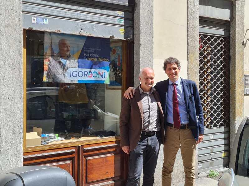 Igor Boni e Riccardo Magi