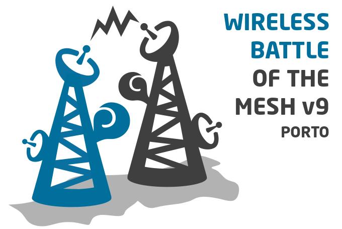 Wireless Battlemesh a realizar em Portugal (PORTO)