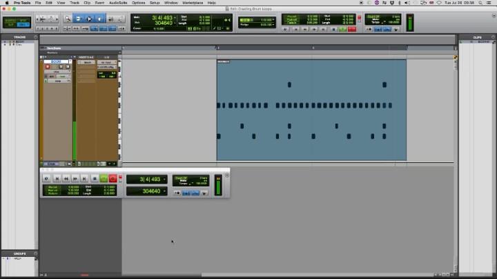 Última iteração da gravação