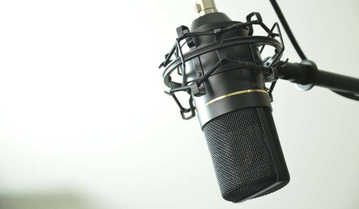 Imagem post microfone