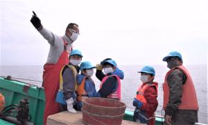 深海延縄漁 お仕事体験