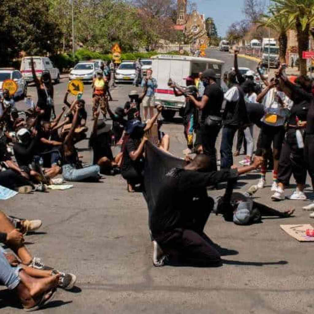 Namibia protests