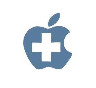 Apple red cross