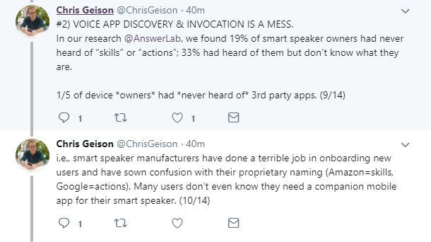 Chris Geison Tweet