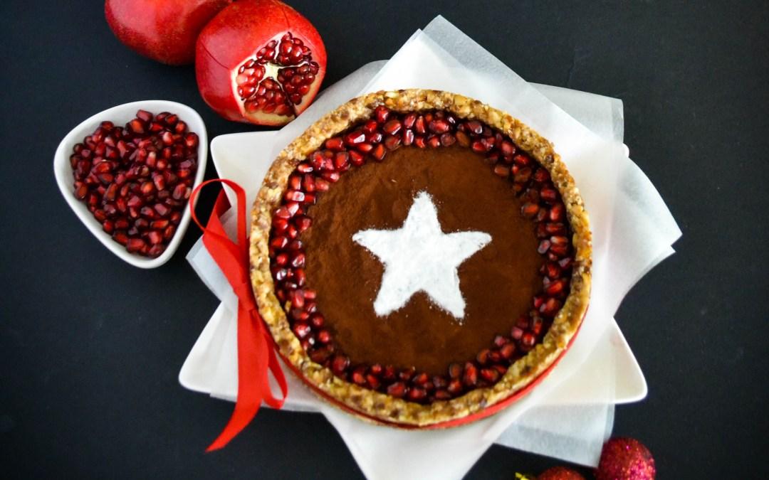 Vegan Christmas Choco Cake