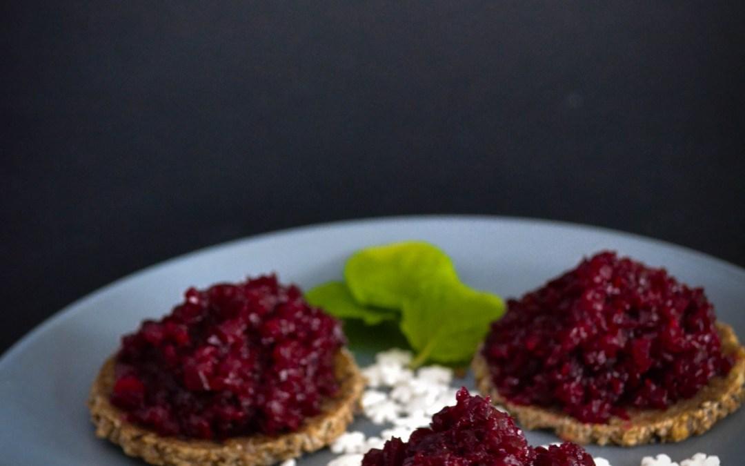 Christmas Beet Caviar