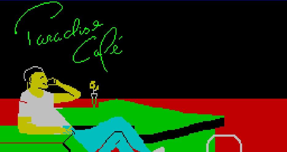 videojogo português Paradise Cafe