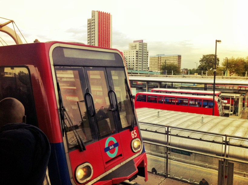 Transport options at Canning Town