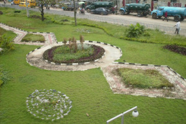 Top view of a park in Lagos. Image: newsaroundlagos