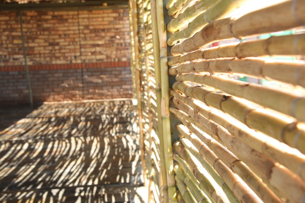 Detail of Materials, Slovo Park Community Center. Image Courtesy of Slovo Park Project Student Group 2010